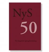 NyS 50. Ny kognitiv sprogforskning