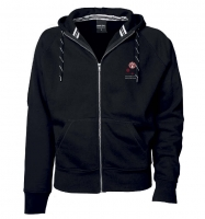 Classic Men's Full Zip Hodded Sweatshirt
